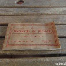 Postales: TARJETA POSTAL 10 VISTAS RECUERDO DE MERIDA BOCCONI Y DIEZ . Lote 107105111