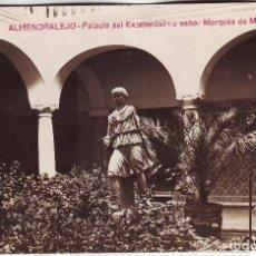Postales: PB-10 ALMENDRALEJO - PALACIO DEL EXCELENTISIMO SEÑOR MARQUÉS DE MONSALUD. Lote 107826371