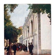 Postales: BAÑOS DE MONTEMAYOR (CACERES) . PERFIL DE LAS FACHADAS DEL BALNEARIO - IMP. ALEMAN. Lote 108742215