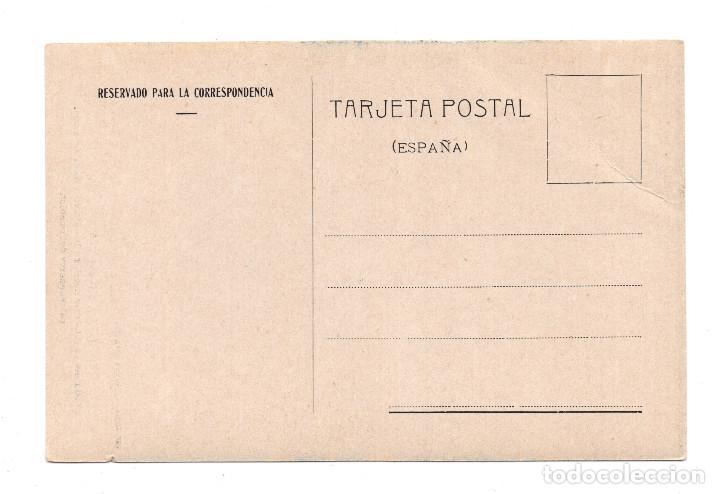 Postales: BAÑOS DE MONTEMAYOR.(CÁCERES).-VISTADEL PUENTE Y UN HOTEL, EN LA CARRETERA DE LA ESTACIÓN.IMP.ALEMAN - Foto 2 - 108744375