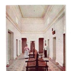 Postales: BAÑOS DE MONTEMAYOR (CÁCERES). GALERÍA DEL PABELLÓN NUEVO. IMP. ALEMAN. Lote 108744895