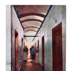 Postales: BAÑOS DE MONTEMAYOR (CÁCERES). GALERÍA DE BAÑOS ANTIGUOS. IMP. ALEMAN. Lote 108745307