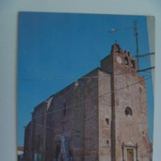 Postales: POSTAL DE MONTEMOLIN ( BADAJOZ ) : IGLESIA PARROQUIAL . AÑOS 70. Lote 183411921