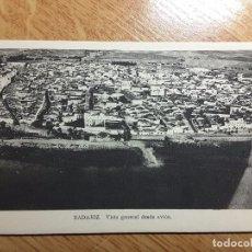 Postales: POSTAL BADAJOZ - VISTA DE LA CIUDAD. Lote 109061527