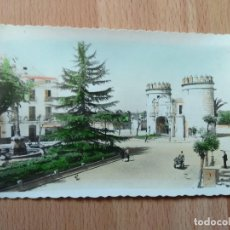 Postales: 4--POSTAL COLOREADA DE BADAJOZ Nº11 PUERTA DE PALMA. Lote 109284023