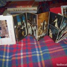 Postales: EXTRAORDINARIAS POSTALES DESPLEGABLES DEL REAL MONASTERIO DE GUADALUPE (CACERES). ZURBARAN.. Lote 109339299