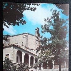 Postales: MONASTERIO DE SAN JERÓNIMO DE YUSTE (CÁCERES). 5 CLAUSTRO DEL NOVICIADO. A. G. LUIS PÉREZ. NUEVA. Lote 109348204