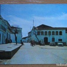 Postales: VALENCIA DE LAS TORRES. BADAJOZ. PLAZA Y AYUNTAMIENTO. (SAN-PI Nº1). AÑO 1972.. Lote 109468799