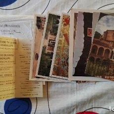 Postales: LOTE 8 ANTIGUAS POSTALES MONASTERIO GUADALUPE Y DE YUSTE Y 2 ANTIGUAS ENTRADAS CACERES EXTREMADURA. Lote 109481503