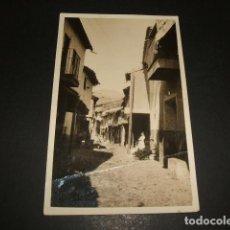 Postales: GUADALUPE CACERES UNA CALLE POSTAL FOTOGRAFICA AÑOS 20. Lote 109816555