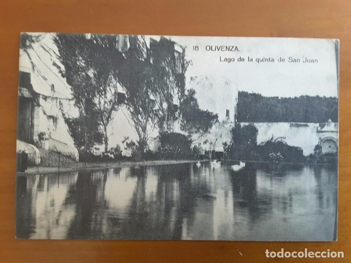 POSTAL OLIVENZA (BADAJOZ) (Postales - España - Extremadura Antigua (hasta 1939))