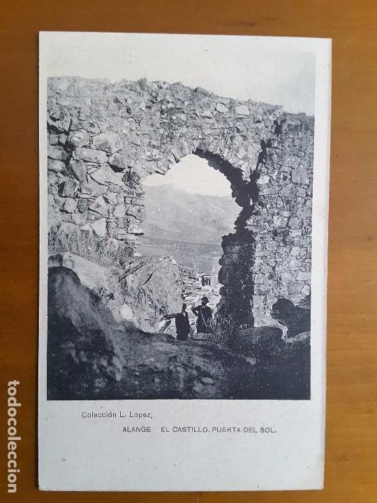 POSTAL ALANGE - EL CASTILLO (BADAJOZ) (Postales - España - Extremadura Antigua (hasta 1939))