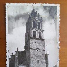 Postales: POSTAL ALMENDRALEJO - TORRE DE LA PARROQUIA. Lote 112041871