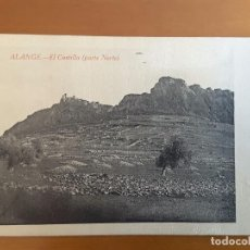 Postales: POSTAL ALANGE - EL CASTILLO. Lote 112119959