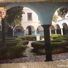 Postales: ANTIGUA POSTAL LOS SANTOS DE MAIMONA BADAJOZ EXCELENTÍSIMO AYUNTAMIENTO 6 ED VISTABELLA. Lote 114705831