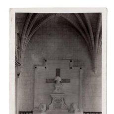 Postales: BADAJOZ SEPULCRO DE D. RAFAEL MENCACHO TRUJILLO EN EL CLAUSTRO DE LA CATEDRAL. ED. LOTY. Lote 115250411