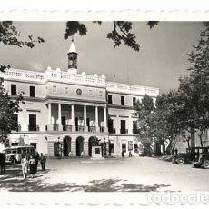 Postales: BADAJOZ PALACIO MUNICIPAL. ED. ARRIBAS 81. CIRCULADA. Lote 115735967