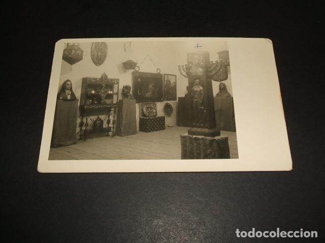 CACERES EXPOSICION ARTISTAS EXTREMEÑOS POSTAL FOTOGRAFICA AÑOS 30 (Postales - España - Extremadura Antigua (hasta 1939))