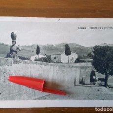 Postales: POSTAL CÁCERES - PUENTE DE SAN FRANCISCO. Lote 116406431