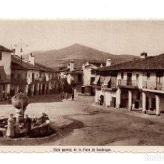 Postales: GUADALUPE - VISTA GENERAL DE LA PLAZA - FOTO RODRIGUEZ. Lote 116938111
