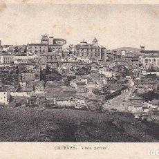 Postales: POSTAL DE CÁCERES - VISTA PARCIAL. Lote 117189611