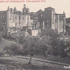 Postales: POSTAL DE CÁCERES - MONASTERIO DE GUADALUPE. Lote 117189723
