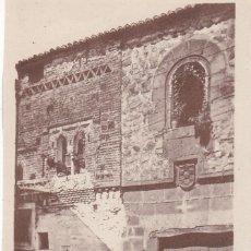 Postales: POSTAL DE CÁCERES- CASA MUDÉJAR. Lote 117189819
