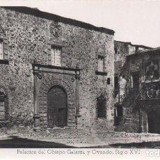 Postales: CACERES PALACIOS DEL OBISPO GALARZA Y OVANDO SIGLO XVI ED ARRIBAS. Lote 117988647