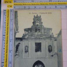 Postales: POSTAL DE BADAJOZ. AÑOS 10 30. ZAFRA, PUERTA DE JEREZ. 11 IMPRENTA Y FÁBRICA DE BOLSAS. 1818. Lote 118182423