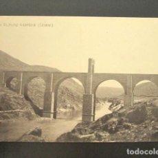 Cartoline: POSTAL CÁCERES. PUENTE ROMANO ALCANTARA. . Lote 118569107