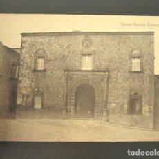 Postales: POSTAL CÁCERES. PALACIO EPISCOPAL. . Lote 118569155