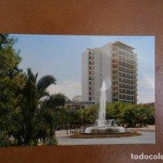 Postales: POSTAL CACERES AVDA DE ESPAÑA, FUENTE MONUMENTAL. Lote 119872587