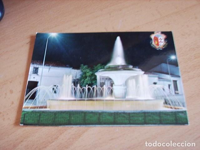 LOS SANTOS DE MAIMONA ( BADAJOZ ) FUENTE LUMINOSA (Postales - España - Extremadura Moderna (desde 1940))