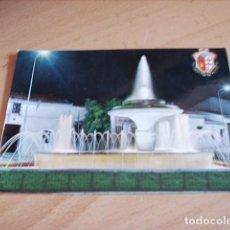 Postales: LOS SANTOS DE MAIMONA ( BADAJOZ ) FUENTE LUMINOSA. Lote 121445675