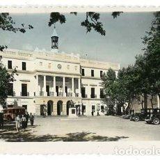 Postales: BADAJOZ PALACIO MUNICIPAL ED. ARRIBAS Nº 81. CIRCULADA. Lote 121660511