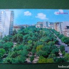 Postales: POSTAL DE CACERES AVD DE ESPAÑA BONITAS VISTAS LA DE LAS FOTOS VER TODAS MIS POSTALES. Lote 121839151