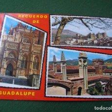 Postales: POSTAL DE GUADALUPE BONITAS VISTAS LA DE LAS FOTOS VER TODAS MIS POSTALES. Lote 121839711