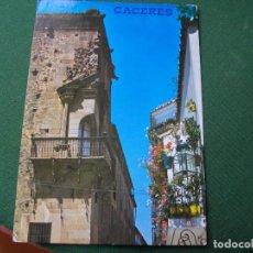 Postales: POSTAL DE CACERES PALACIO GODOY BONITAS VISTAS LA DE LAS FOTOS VER TODAS MIS POSTALES. Lote 121839855