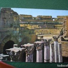 Postales: POSTAL DE MERIDA ANFITEATRO BONITAS VISTAS LA DE LAS FOTOS VER TODAS MIS POSTALES. Lote 121840007