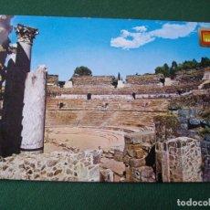 Postales: POSTAL DE MERIDA ANFITEATRO BONITAS VISTAS LA DE LAS FOTOS VER TODAS MIS POSTALES. Lote 121840055