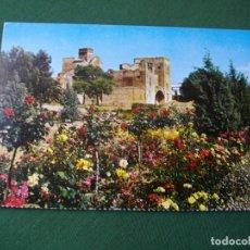 Postales: POSTAL DE BADAJOZ ALCAZABA BONITAS VISTAS LA DE LAS FOTOS VER TODAS MIS POSTALES. Lote 121840159