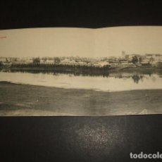 Postales: BADAJOZ VISTA GENERAL POSTAL DOBLE EDICION JOAQUIN SANCHEZ LOPEZ FOTOTIPIA THOMAS. Lote 122571099