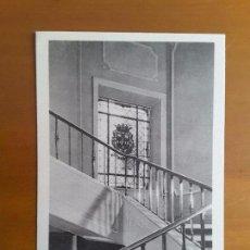 Postales: POSTAL PLASENCIA - HOTEL ALFONSO VIII - DETALLE DE LA ESCALERA. Lote 124244887