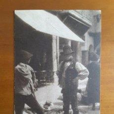 Postales: POSTAL PLASENCIA - COSTUMBRISTA - TIPOS Y MERCADO. Lote 124245191