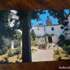 Postales: LLERENA. PATIO DEL PALACIO EPISCOPAL. CASA GRANDIZO, LLERENA.. Lote 124326919
