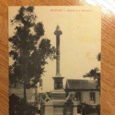 Postales: POSTAL BADAJOZ - 5. MEMORIA MENACHO -. Lote 124443503