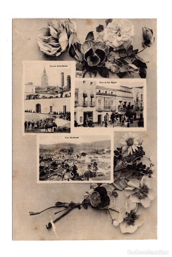 RECUERDO DE JEREZ DE LOS CABALLEROS (BADAJOZ).- CENTENARIO VASCO NUÑEZ DE BALBOA (Postales - España - Extremadura Antigua (hasta 1939))