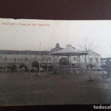 Postales: POSTAL BADAJOZ - PASEO DE SAN FRANCISCO - V. RODRIGYEZ. Lote 125197219