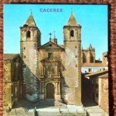 Cartes Postales: CACERES - PLAZA DE SAN JORGE. Lote 125270195