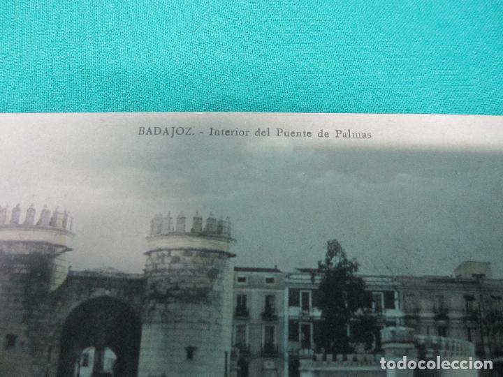 Postales: POSTAL ANTIGUA INTERIOR PUENTE DE PALMAS VICENTE RODRIGUEZ 26-8-1915 - Foto 2 - 127769223